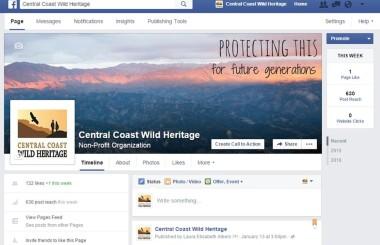 Central Coast Wild Heritage Facebook Page!
